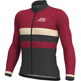 Alé Cycling Classic Vintage LS Jersey Men bordeaux